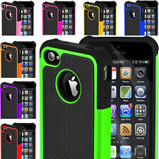 Hard Back Silicone ShockProof  Rubber Case Cover for iPhone 4 / 4s/5 / 5s 6 / 6S
