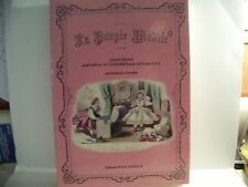 Vol #1 La Poupee Modele 1863-1873 Theimer Patterns for LILY French German dolls