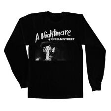 Officially Licensed A Nightmare On Elm Street Long Sleeve T-Shirt S-XXL Sizes