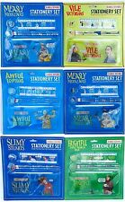 HORRIBLE HISTORIES 2 Pack of Stationary Sets Different Designs - New and Sealed
