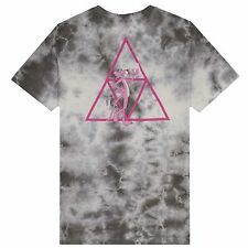 HUF X PINK PANTHER TRIPLE TRIANGLE CRYSTAL WASH TEE SHIRT GREY