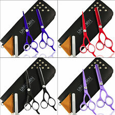 Professional sharp Hairdressing Scissors Set Barber Hair Cutting Thinning Shears