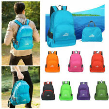 Lightweight Foldable Packable Backpack Rucksack Sports Hiking Travel Daypack 20L