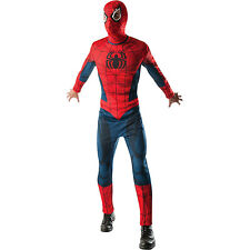 SPIDERMAN Superhero Marvel Comics Adults Mens Fancy Dress Costume Outfit 820005