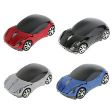 2.4GHz Wireless Car Shaped Mouse Mice USB Receiver for Laptop Notebook