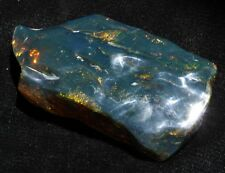 ++ GRASSY BLUE! Polished Mexican Amber 145g