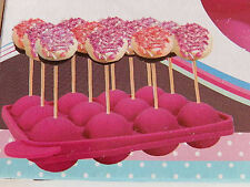 Cake Pops Muffin Form Silikon Backform Stiele Popcake Sticks Lollipop Kuchenform