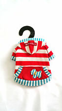 Small Dog coat, Chihuahua clothes Puppy size Hoodie jumper coat size - XXS, S