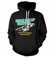 Officially Licensed Star Trek- Beam Me Up Scotty Hoodie S-XXL Size