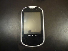 ALCATEL ONETOUCH MINI OT-708 - Silver (Unlocked) Mobile Phone