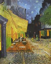 Vincent van Gogh: The Cafe Terrace at Night. Fine Art Print/Poster