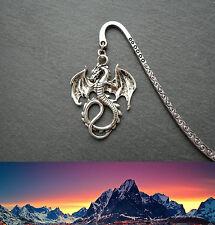 Lord of the Rings Dragon Smaug Bookmark Silver Middle-earth Ringer Christmas