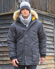 Result Urban Long Parka Result Urban Outdoor Wear Mens Outer Jackets R62X