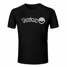 The Pokemon Logo Printed Cotton T Shirt - Pokemon T Shirt Tennis T Shirt