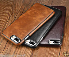 Rich Quality Leather Hard back cover case for Apple iPhone 7, 7 PLUS