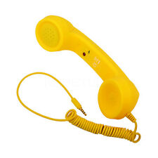 New 3.5mm Retro phone Handset Radiation-proof adjustable toneCell Phone Receiver
