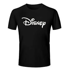 Branded Cotton T Shirt - Branded Disney T Shirt - Brand Printed T Shirt Black