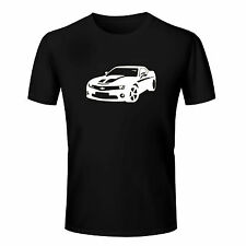 Branded Cotton T Shirt - Branded Car T Shirt - Brand Printed T Shirt Black