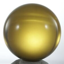 CALIBRATED!! AAA Mexican Amber Sphere 31mmd