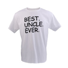 Best Uncle Ever Birthday Holiday Christmas Gift Saying Slogan Cotton Men T-shirt