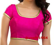 Ready to Wear Saree Blouse, Readymade Saree Blouse, Pink Padded Readymade Blouse
