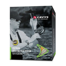 Greys NEW Platinum Shoot Salmon Fly Fishing Line Kit Various Options