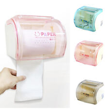 MagiDeal Toilet Paper Roll Tissue Holder Dispenser Wall Mounted Bathroom