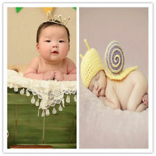 Cute Newborn Baby Unisex Wrap Blanket Headband Beanie DIY Photography Accessory