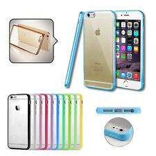 CUSTODIA SILICONE BUMPER HARD BACK TPU CASE COVER PER APPLE IPHONE