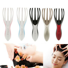 Electric Octopus Massager Scalp Head Neck Body Spa Vibrating Massage Brush Comb