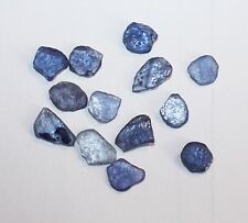 MONTANA YOGO SAPPHIRE FLAT ROUGH 10 CT PARCEL - Extra Large Sized - 13 pieces!!!