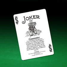 Bicycle 808 Black and & White Joker   - Genuine Original Bicycle Card Stock