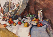 Paul Cezanne: Still Life with Apples. Art Print/Poster (4222)