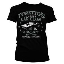 Officially Licensed Toretto's Muscle Car Club Women T-Shirt S-XXL Sizes