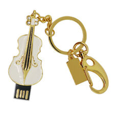 1x USB Flash Memory Drive Data Storage Violin Shaped Pendrive 8GB/16GB/32GB/64GB
