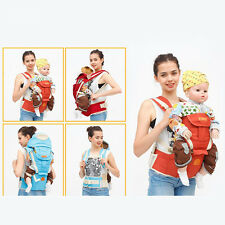 Cotton Baby Carrier Sling Hip Seat Wrap Pouch Carrier 64-118cm Fit 3-36 Months