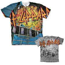 Officially Licensed Def Leppard Pyromania Allover T-Shirt (S-XXL)