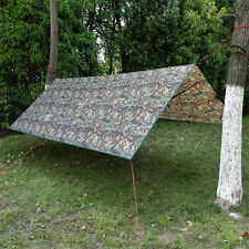 Outdoor Camping Tent Tarp Beach Sunshade Canopy Shelter Picnic Pad Camouflage