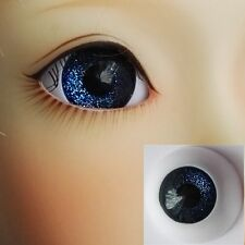 Steel Blue - BJD Eyes - 8mm 10 12 14 16 18 20 22 MSD SD13/10 Doll Dollfie
