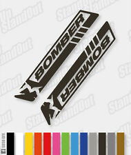 MARZOCCHI BOMBER Style Replacement Decals - Custom / Fluorescent Colours