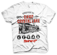 Officially Licensed Friday The 13th- Camp Crystal Lake 3XL,4XL 5XL Men's T-Shirt