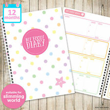 My Foody Diary: Slimming World food diary (12 months), food planner, diet diary