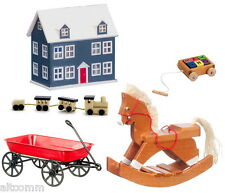 Toy Set Collection of  5 Toys See Description 1:12 Scale Dollhouse Miniature
