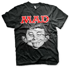 Officially Licensed MAD Magazine- Alfred BIG & TALL 3XL, 4XL, 5XL Men's T-Shirt