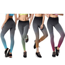 Women Girls Yoga Workout Gym Exercise Fitness Sports Elastic Leggings Pants PICK