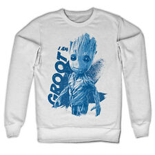 Officially Licensed Guardians of The Galaxy- I Am Groot On Sweatshirt S-XXL Size