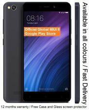 "Xiaomi Redmi 4a Prime Smartphone 5"" Qualcomm Snapdragon CPU 32GB NEW"