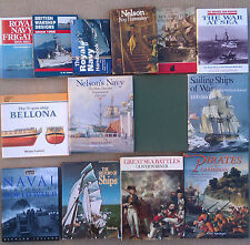 NAVAL HISTORY, SHIPS AND BADGES ETC - SELECTION OF HARD BACKED BOOKS.