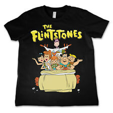 Officially Licensed The Flintstones Kids T-Shirt Age 3-12 Years