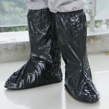 Mens Motorbike Bicycle Riding Accs Waterproof Non-slip Shoes Covers Rain Boots